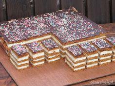 Przekładany sernik gotowany - Obżarciuch High Carb Foods, Breakfast Menu, Polish Recipes, Homemade Cakes, Cakes And More, Cheesecake Recipes, Cheesecakes, No Bake Cake, Baking Recipes