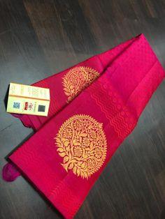 Half Saree Designs, Silk Saree Blouse Designs, Fancy Blouse Designs, Saree Blouse Patterns, Latest Silk Sarees, Indian Silk Sarees, Soft Silk Sarees, Drape Sarees, Saree Tassels