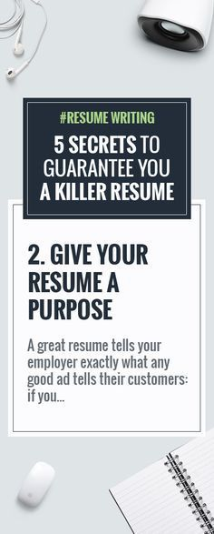 RESUME WRITING ADVICE #1 Always quantify your work A great - great resume tips