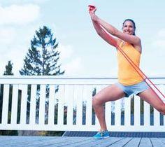 Bliv stærk og tonet med en træningselastik