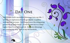 "Day #1 ""I Declare; 31 Promises to Speak Over Your Life"" by Joel Osteen"