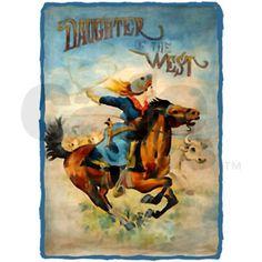Vintage Cowgirl Roping