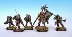 Showcase: Chaos Renegade Militia Command - Tale of Painters