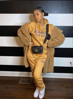 Sweet 16 Outfits, Cute Lazy Outfits, Swag Outfits For Girls, Chill Outfits, Dope Outfits, Classy Outfits, Trendy Outfits, Fashion Outfits, Black Girl Fashion