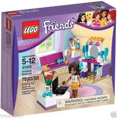 2 New LEGO Friends Sets 41009 Andrea/'s Bedroom Set /& 41010 Olivia/'s Beach Buggy