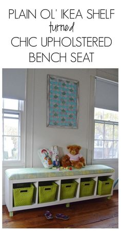 Ikea Shelf Turned Bench Seat