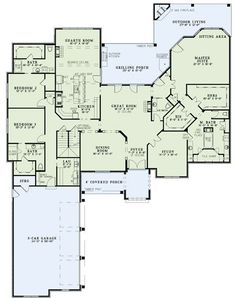 I am in love with the layout of the master bath! The house in general looks great but is much bigger then we would need.: