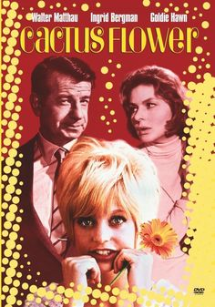 "Cactus Flower is delightful comedy sparked with crazy, mixed-up situations and a kooky, Academy Award(r)-winning debut performance by Goldie Hawn.  A ""white lie"" that snowballs and involves more and more people ...    http://family-friendly-movies.com/comedy/the-cactus-flower/"