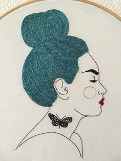 Bordado Freestyle - Giselle Quinto instagram @gisellequinto