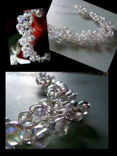 Wire crochet..bubbles