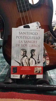 La sangre de los libros / Santiago Posteguillo. Un viajesoooote super recomendable.