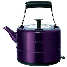 A modern kettle with a vintage twist, the Prestige 56604 traditional kettle is ready to meet your boiling needs!