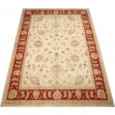 Beautifully hand knotted wool oriental rug. This beige, rust red border area rug has a beautiful antique design and will be a wonderful addition to your home decor' or a beautiful starting point for decorating your new home. This handmade oriental rug is made to last a good long while and bring warmth and comfort to any room in your home.