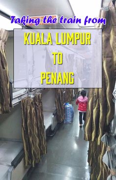 How to take the train from Kuala Lumpur to Penang and then the ferry to Georgetown. How to buy tickets, the cost and what the seats look like. We took the night sleeper seats and it was great