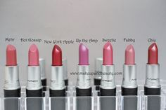 All MAC Lipsticks Photos and Swatches photo