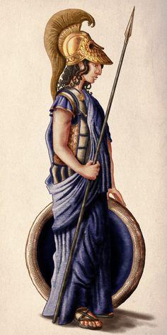 Athena by ~InfernalFinn on deviantART