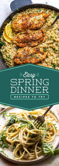 7 Easy Spring Dinners To Make This Week