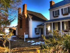 This is the oldest house still standing in Romney, WV --  It was built in about 1760