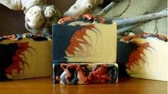 Dragon's Blood Soap - EvesGardenSoaps - YouTube