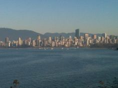 Warm and sunny day in Vancouver BC (10C). Couldn't resist going for a short walk. 22 km to UBC and back.