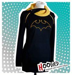 CASSANDRA CAIN batgirl overhead dress/tunic     via HOODIED on Etsy