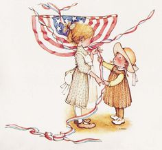 Holly Hobbie red~white~ and blue patriotic all the way! Description from pinterest.com. I searched for this on bing.com/images
