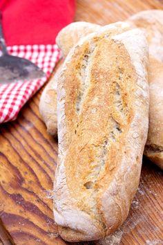 Tutti i segreti per ottenere un ottimo pane senza la lunga lievitazione Pain, My Recipes, Pizza, Bread, World, Brot, Baking, Breads, Buns