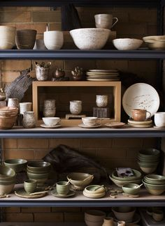 Details from the studio of Melbourne ceramicist Sarah Schembri. Photo - Sean Fennessy for thedesignfiles.net.