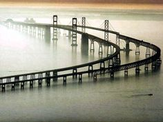 Chesapeake Bay Bridge, Virginia  17.6 mi, one of the world's longest bridges, would be fun to drive in a convertible on a beautiful day!