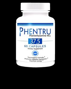 3 Phentru 37.5 #Phenylethylamine HCL Rapid #Weightloss #diet SHIPS FROM USA