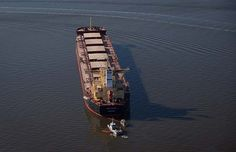Photos: Oil spills from freighter in English Bay
