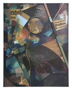 Merz-Pict. 25A: Das Sternenbild, c.1920 Art Print by Kurt Schwitters at Art.co.uk