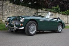 Austin Healey 3000 MKIII I British Racing Green - 1968 (this is the 1965 model) Coffee Apple, Austin Healey, Car Car, Old Cars, Cars For Sale, Automobile, Classic Cars, British, Vehicles