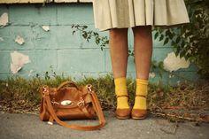yellow. socks. AAHH!