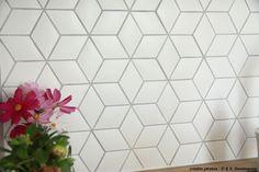 Carrelage de salle de bain / de cuisine / de sol / mural - LOSANCE EN BLANC SATINÉ (2S) - Normandy Ceramics - Carrelage Design - relief