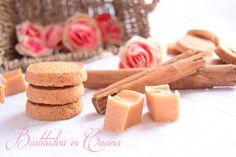 Biscotti al caramello e cannella profumatissimo biscotti da tè!  #recipes #ricetta #cookies