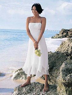 casual beach wedding dresses minimalist design 8 on wedding beach casual wedding dress brings comfortable and sexual feeling 500x662