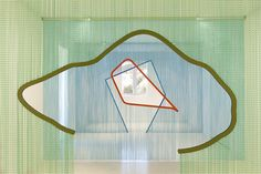Daniel Steegmann Magrané. Art with Kriskadecor metal cutains