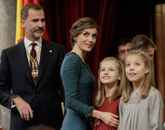 Spanish Royals Attend the 12th Legislative Sessions Opening - Pictures