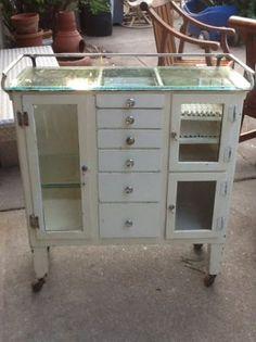Vintage dental cabinet   My Booth at Seaside Sisters   Pinterest ...