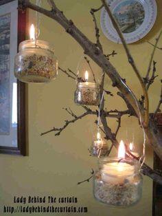 Tree Branch Centerpiece