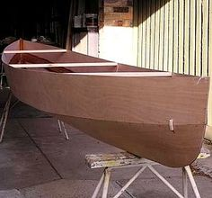 How Light Can A Eureka Be Built:  Words from Mike Storer,the boats designer,we have the plans and can supply those,with our without mat...