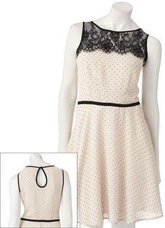 Lc lauren conrad polka-dot dress on shopstyle.com