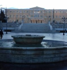 Hellenice Parliament Syntagma Square Athens Greece