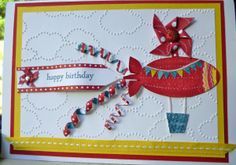 Stampin' Up!  Moving Forward birthday