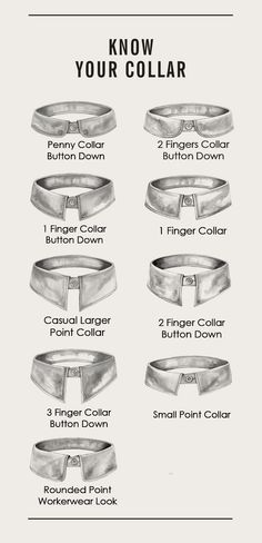 Know your collar! #style #fashion #facts