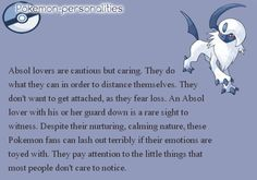 My top 5 Pokemon and what that says about me. #2, Absol