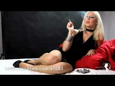 smoking fetish - nicotine ladies - Caroline