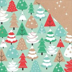 Inspiration Christmas patterned paper by Kaisercraft.
