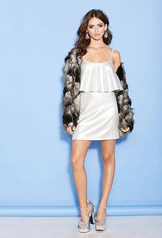 Tiered Sequin Cami Dress from Forever 21 $29,90